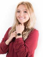 Zegarek złoty fashion/modowy Rosefield Boxy QVBGD-Q015 bransoleta - duże 2