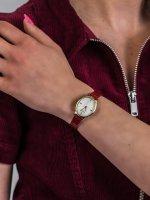 Zegarek złoty fashion/modowy Timex Milano TW2R94700 pasek - duże 3