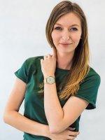 Zegarek złoty klasyczny Cluse La Boheme CW0101201027 bransoleta - duże 2
