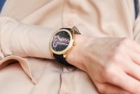 Zegarek złoty klasyczny Guess Pasek W1276L2 pasek - duże 5