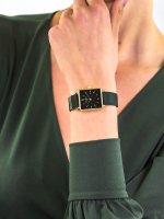 Zegarek złoty klasyczny Rosefield Boxy QBFGG-Q031 pasek - duże 3