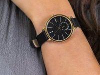 Zegarek złoty klasyczny Skagen Hagen SKW2354 pasek - duże 4