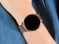 Garett 5903246282306 Smartwatch Garett Lady Bella złoty stalowy zegarek sportowy Damskie